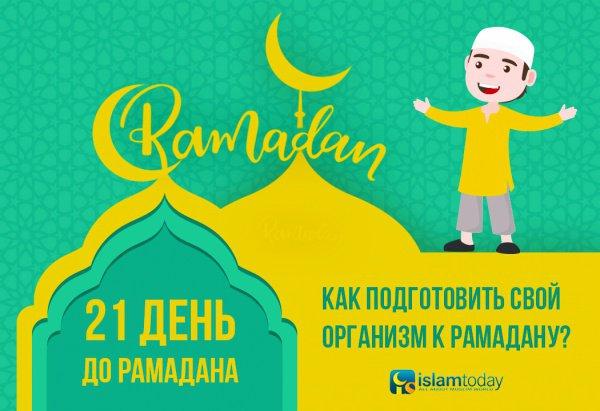 Как подготовить организм к Рамадану