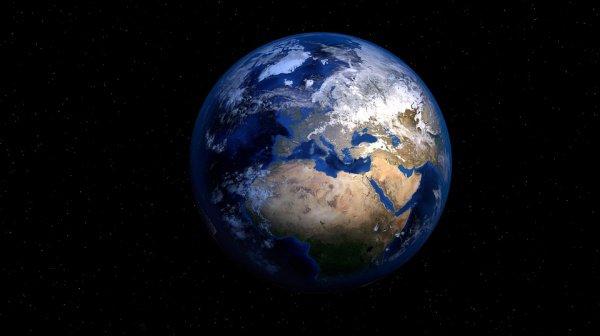 На первый взгляд Земля не выглядит сильно иначе