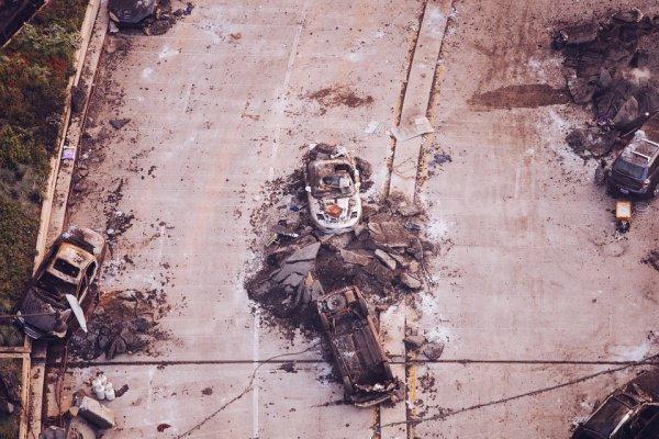 При этом на месте боестолкновения были найдены автоматическое оружие и боеприпасы