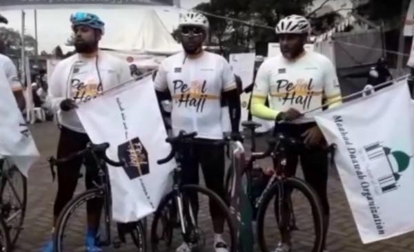 Велосипедисты из Кении отправились в Хадж