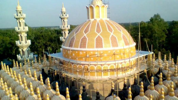 Мечеть признана одной из красивейших в мире.