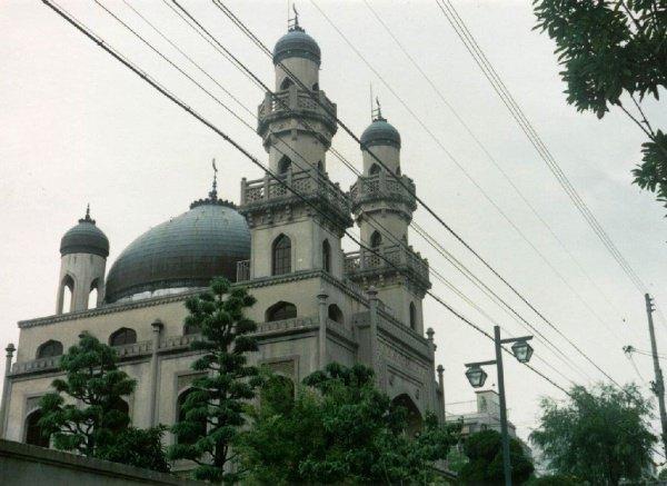 Мечеть в японском городе Кобе.