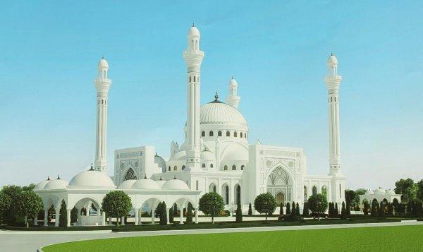 Строительство мечети стартовало в декабре 2012 года