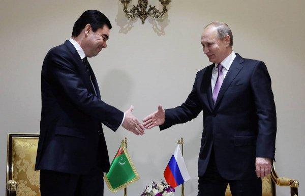 Президент России поздравил главу Туркменистана с Днем независимости республики.
