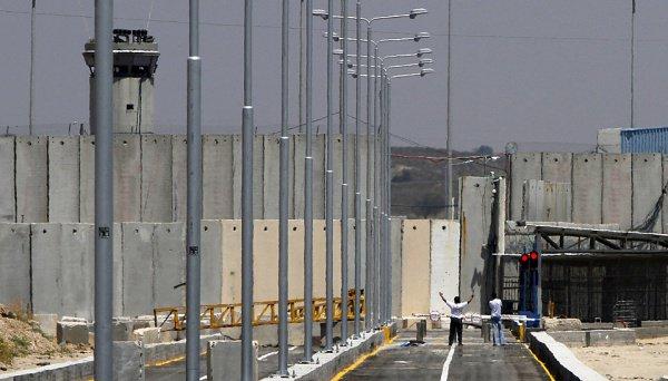 Новая стена разделит Израиль и сектор Газа.