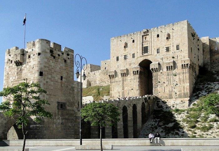 Цитадель Алеппо (Источник фото: 1001inventions.com)