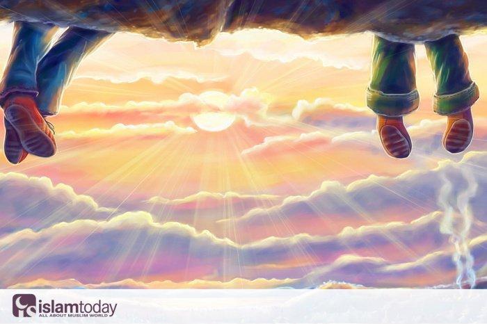 Поистине, есть у Аллаха ангелы, которые обходят дороги в поисках людей, занятых поминанием.(Источник фото: pinterest.ru)