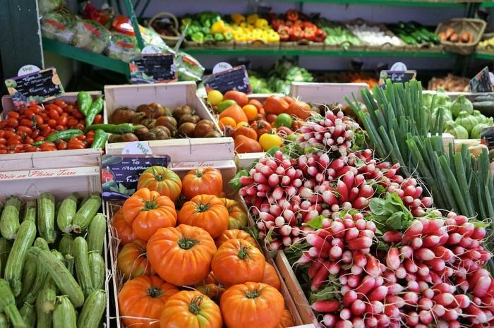 Человеку необходимо 400 г овощей и фруктов в день