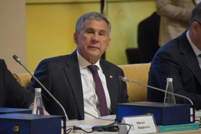 Рустам Минниханов на заседании ГСВ.