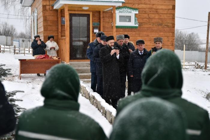 Камиль Самигуллин на церемонии открытия мечети.