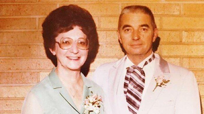 У пары осталось 2 ребенка, 4 внука и 8 правнуков (Фреда и Лес Остин. Архивное фото: Austin family)