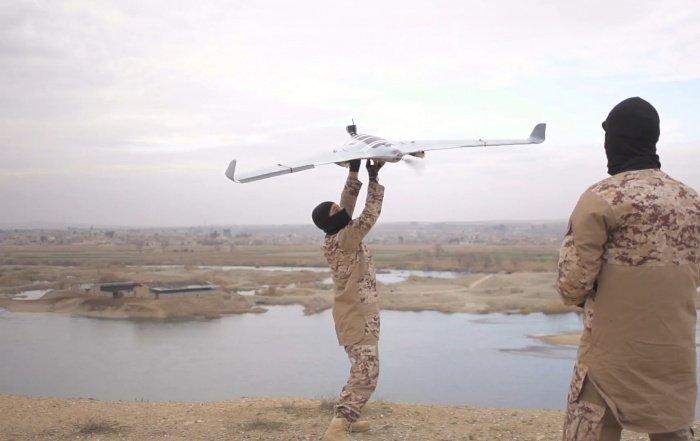 Террористы все чаще используют для атак дроны.