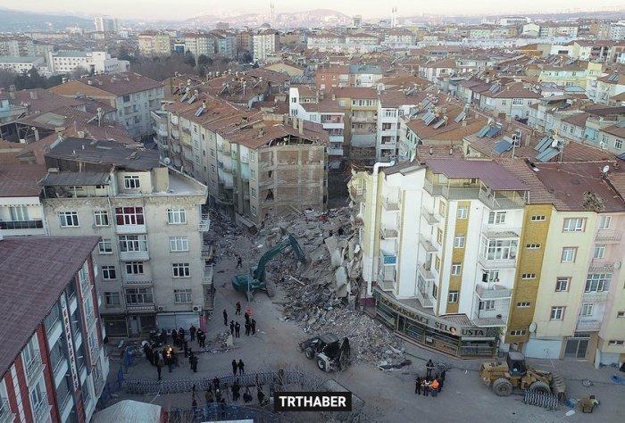 Смертельное землетрясение произошло в Турции.