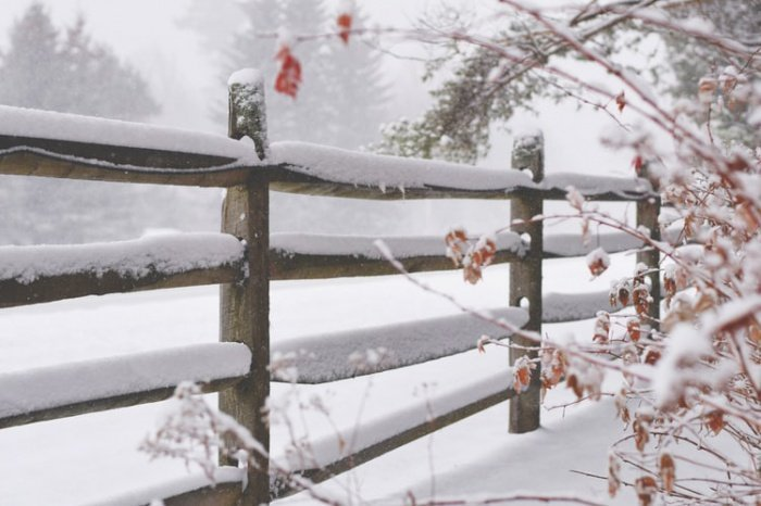 Снега будет все меньше и меньше по мере продвижения потепления климата