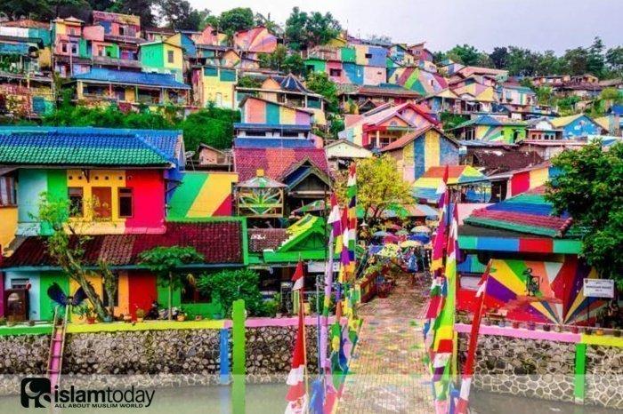 Деревня Кампунг Пеланги. (Источник фото: mvslim.com)