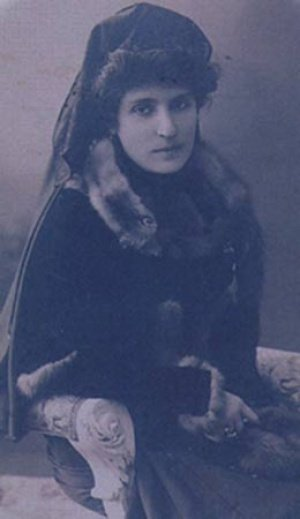 Турецкая поэтесса Нигяр Ханум