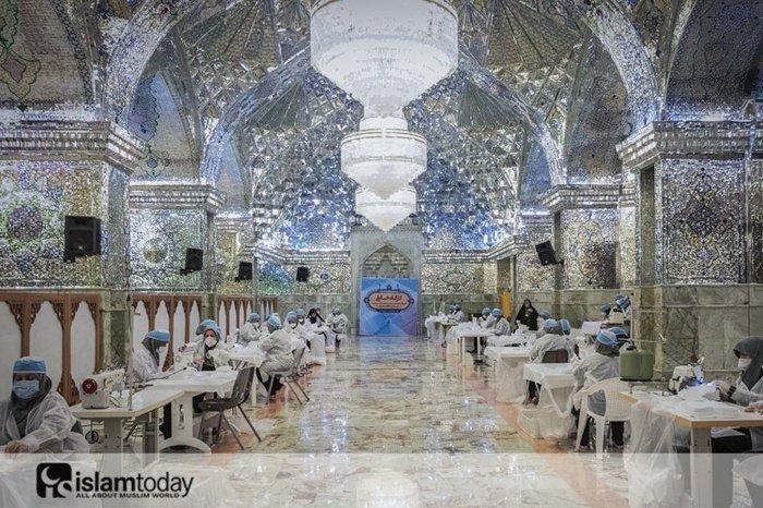 """""""Зеркальная мечеть"""" в Иране превращена в цех. (Источник фото: vk.com/kief_point)"""