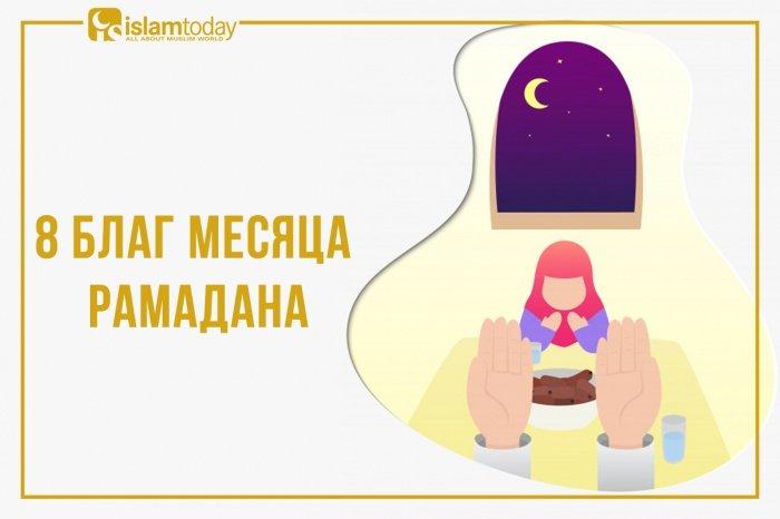 Блага, которыми одаривает Аллах в месяц Рамадан. (Источник фото: freepik.com)