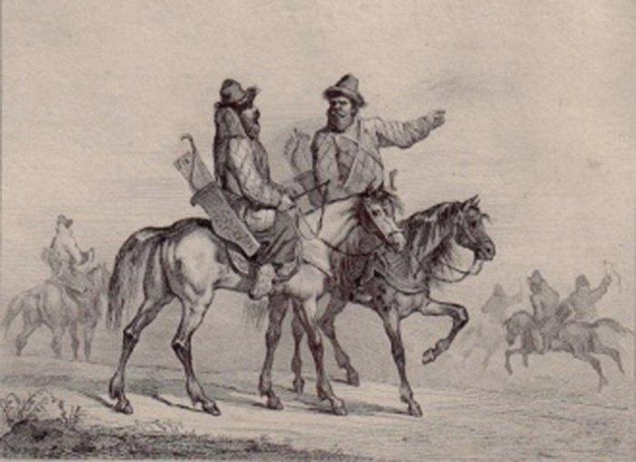 Служилые татары (Йохан Якоб Шейхцер)