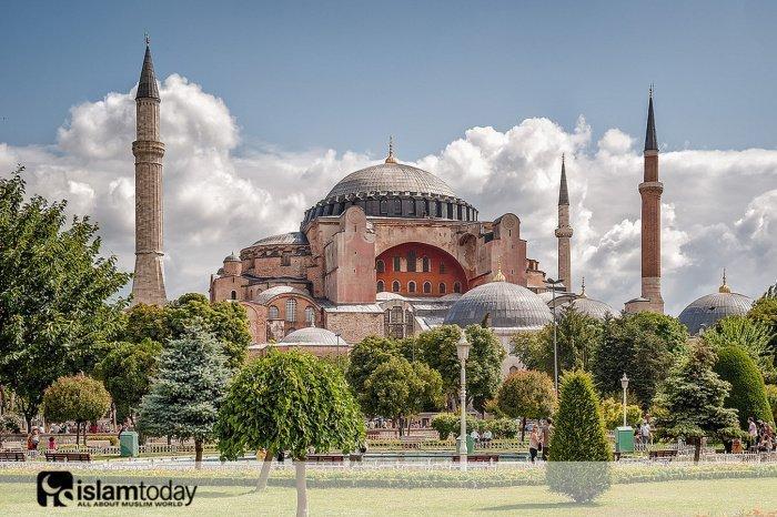 Отныне Мечеть Айя-София. (Источник фото: yandex.ru)
