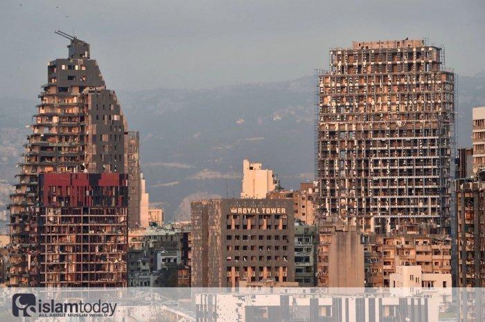 Бейрут после взрыва (Источник фото: vk.com/kief_point)