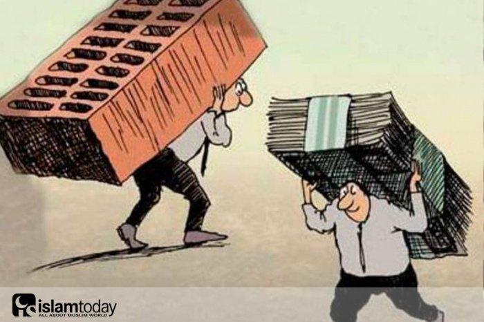 Причина, почему бедные продолжают беднеть. (Источник фото: yandex.ru)