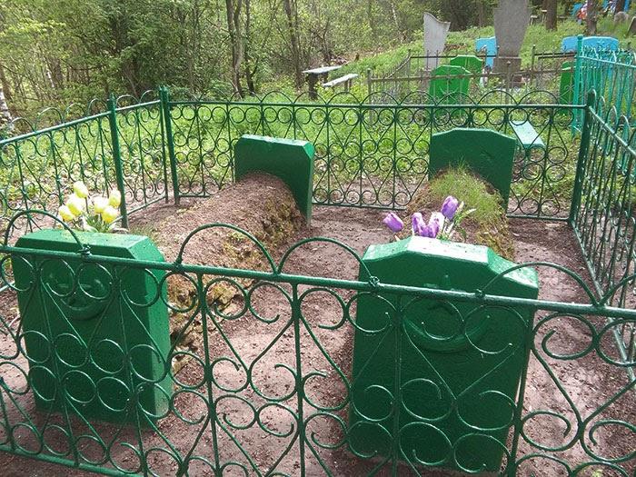 Мусульманское татарское кладбище в Ювковцах