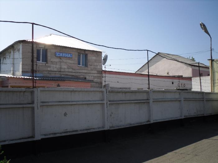 Сауна в полуразрушенном здании бывшей Яушевской мечети (совр. вид).