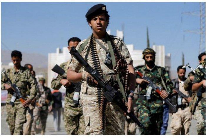 Группа повстанцев-хуситов. (Источник фото: news.rambler.ru)