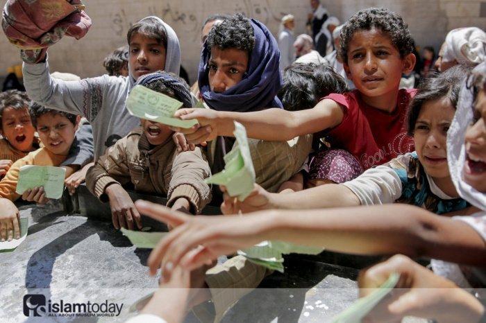 Голод в Йемене. (Источник фото: vladtime.ru)