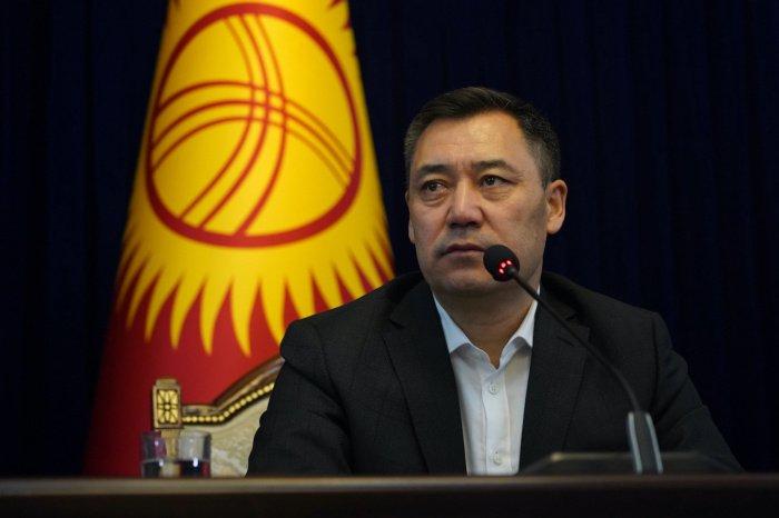 Садыр Жапаров выступил за сохранение официального статуса русского языка в Киргизии.