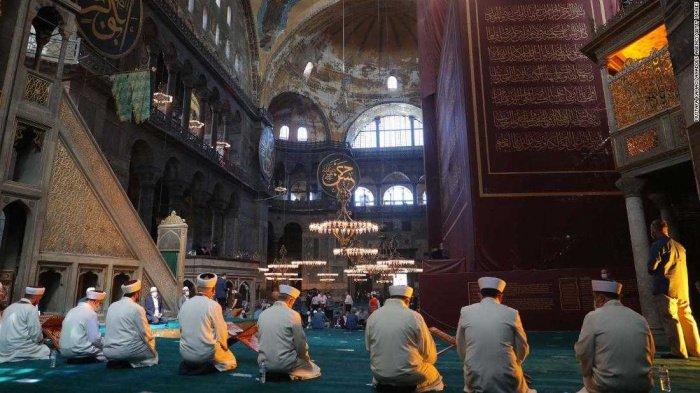 Превращение Айя-Софии в мечеть назвали главным событием в Турции.