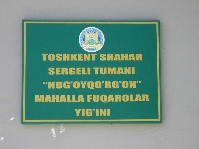 Аул Ногай Курган. Сейчас это махалля в Сергелийском районе города Ташкента