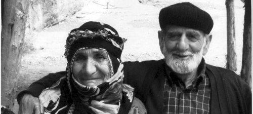 Ломская семья. Мехмет Али Дайанч с женой. Деревня Кыналычам, Йусуфели