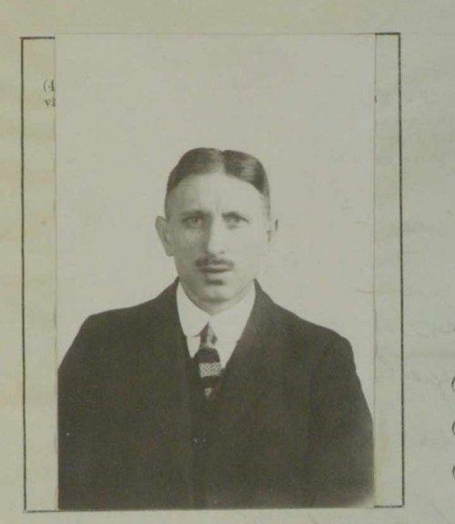 Ибрахим Умяркаев. Фотография из заявления о получении вида на жительство