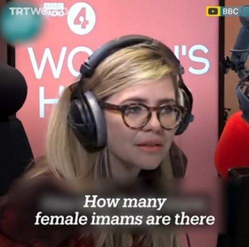 В эфире Эмма Барнетт, задающая свой провокационный вопрос.