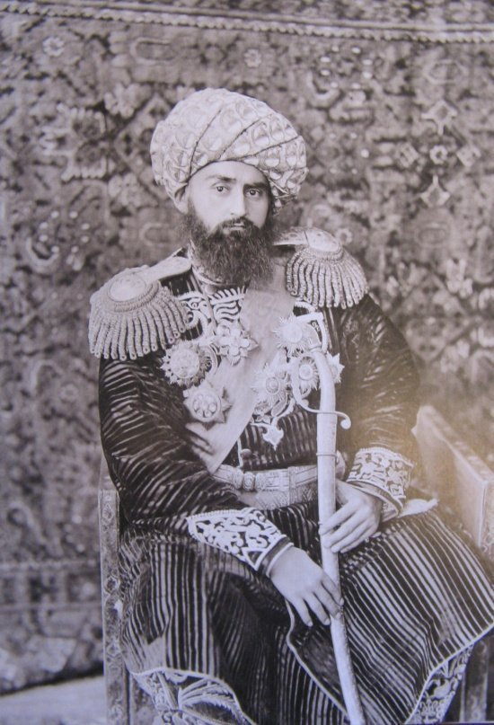 Бухарский эмир Абдулахат хан (1859-1910) (Источник фото: Википедия).