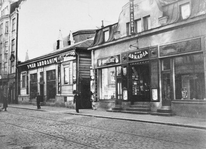 Магазин Умара Абдрахима в Хельсинки, 1925 год. Источник фото helsinkikuvia.fi