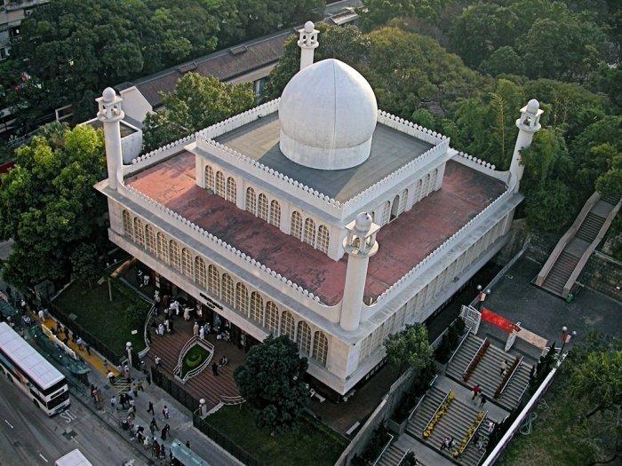 Мечеть Коулун – самая большая мечеть Гонконга (Фото wikipedia.org).