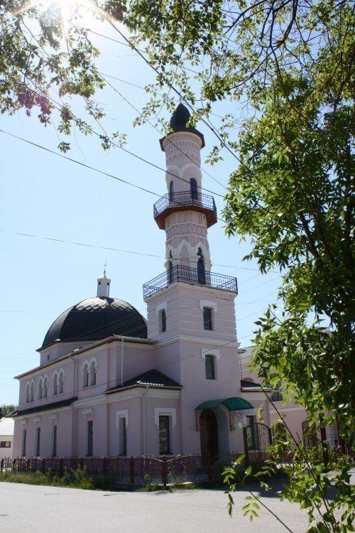Астрахань. Черная мечеть. Считалась соборной мечетью Бухарского двора (Фото wikipedia.org).