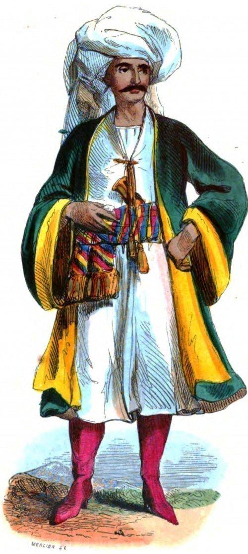 Бухарец. Из книги Августа Валена,1843 год (Фото: wikipedia.org).