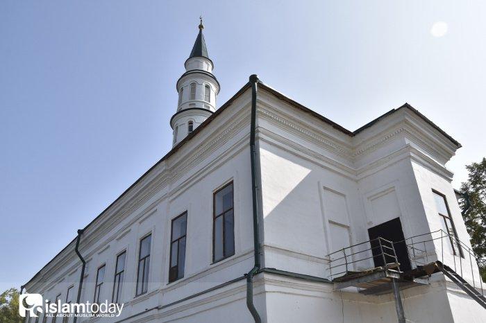 Старинная мечеть Иске Таш.