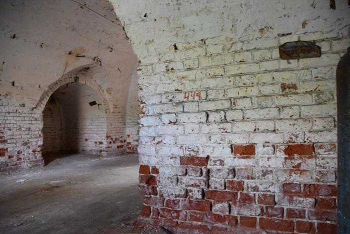 Первый этаж мечети.