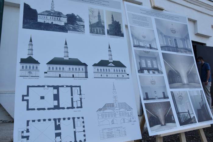 План реставрации мечети.