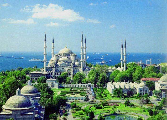 Мечеть Султанахмет (Фото: zen.yandex.ru).