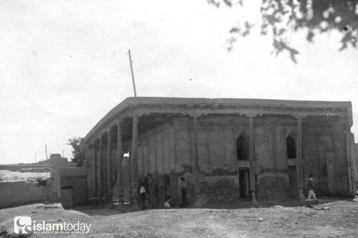Мечеть Ходжа Булгар. Бухара, 1950 год. Источник фото pastvu.com