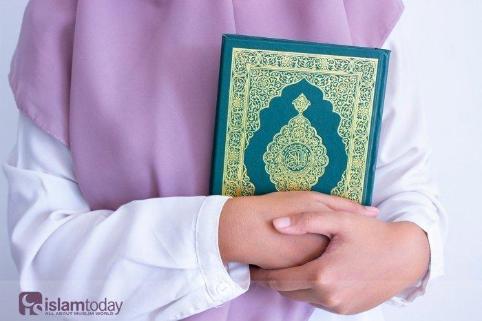Священный Коран является тем источником мудрости и вдохновения, который способствует всестороннему обогащению женской души (Фото: shutterstock.com).
