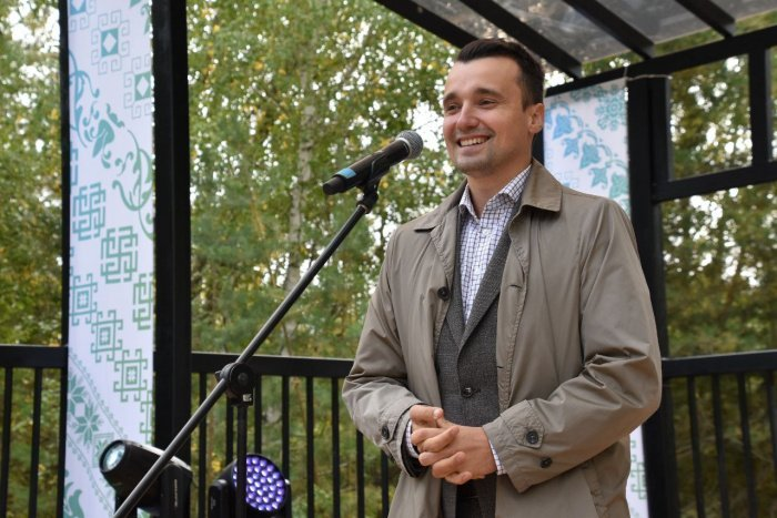 Министр по делам молодёжи Республики Татарстан Тимур Сулейманов.