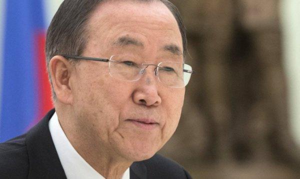 Пан Ги Мун назвал новость о гибели людей душераздирающей