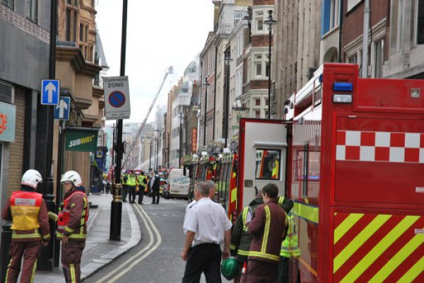 Для локализации огня спасателям понадобилось несколько часов